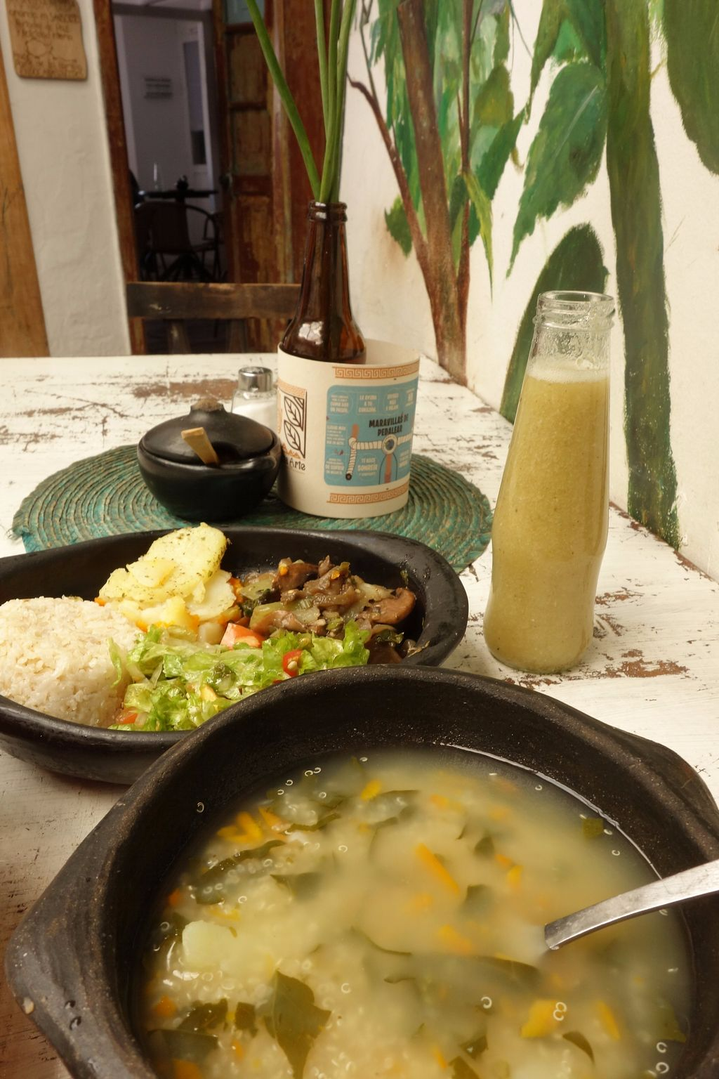 """Photo of Nativo  by <a href=""""/members/profile/Eepie"""">Eepie</a> <br/>Menu of the day (9.000 pesos). Quinoa soup <br/> August 15, 2017  - <a href='/contact/abuse/image/54950/292957'>Report</a>"""