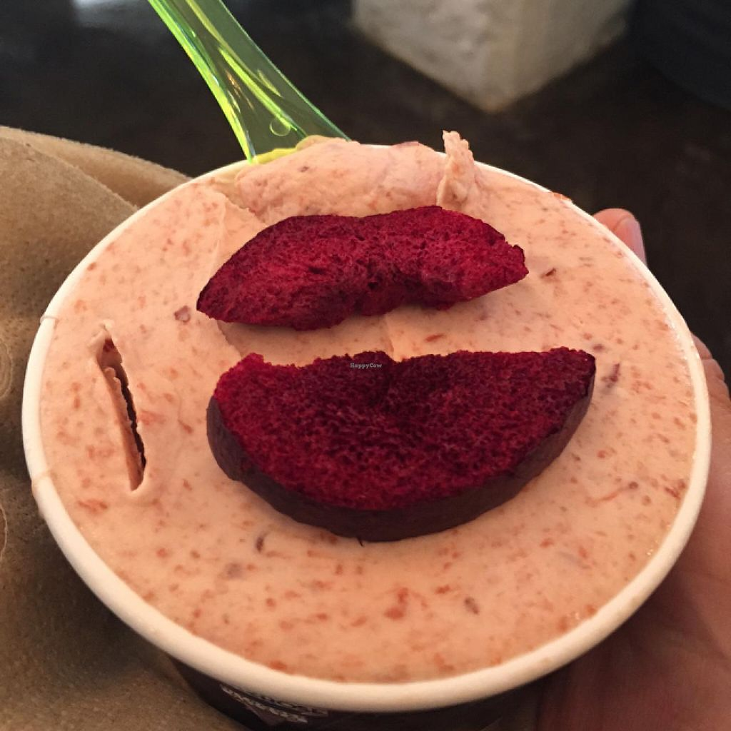 """Photo of Dex2rose  by <a href=""""/members/profile/ClarkeVincent"""">ClarkeVincent</a> <br/>dark plum and brandy vegan sorbet <br/> March 4, 2015  - <a href='/contact/abuse/image/54952/94927'>Report</a>"""