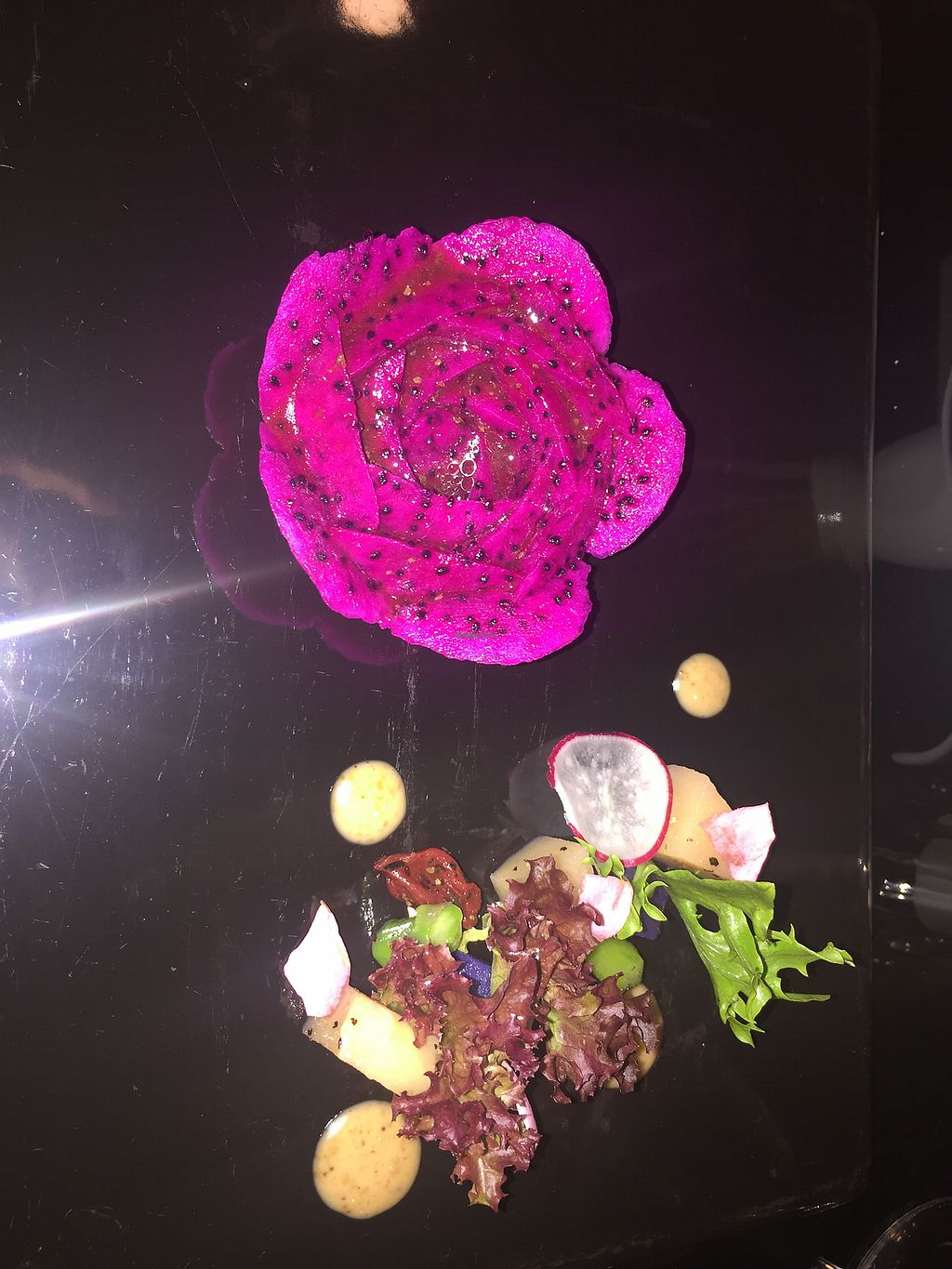 """Photo of Joie Restaurant  by <a href=""""/members/profile/WFPB52"""">WFPB52</a> <br/>Dragon Fruit Lotus <br/> February 8, 2018  - <a href='/contact/abuse/image/54966/356439'>Report</a>"""
