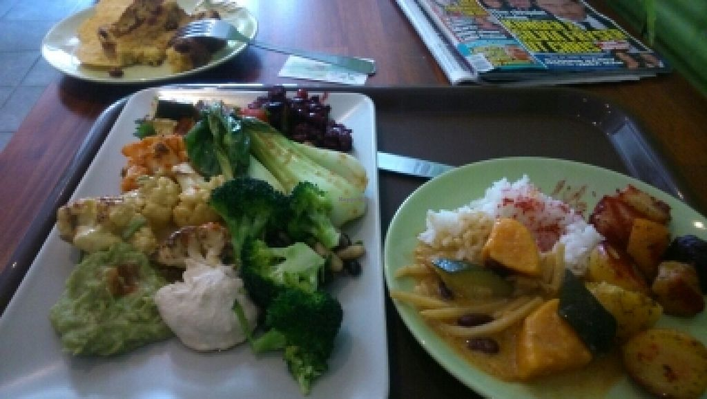 """Photo of CLOSED: Vaxt Cafe  by <a href=""""/members/profile/nstokes80"""">nstokes80</a> <br/>delicious buffet!! <br/> June 20, 2016  - <a href='/contact/abuse/image/54968/155065'>Report</a>"""
