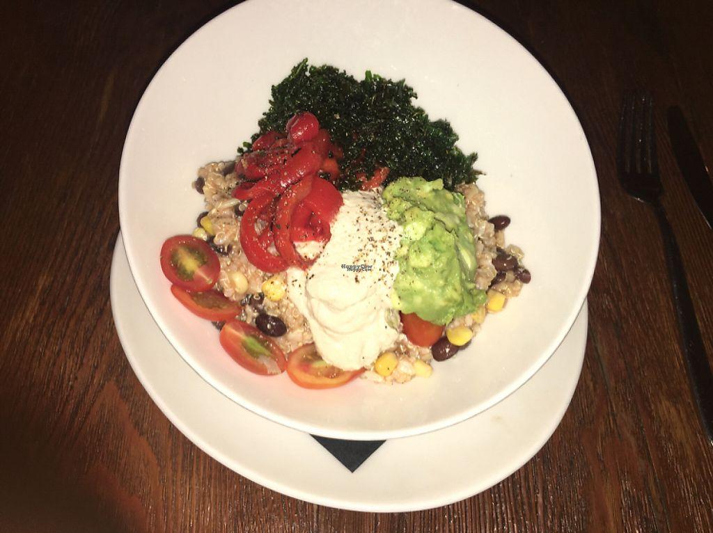 "Photo of Stonesedge  by <a href=""/members/profile/manic-organic"">manic-organic</a> <br/>Quinoa burrito bowl <br/> April 7, 2017  - <a href='/contact/abuse/image/54995/245367'>Report</a>"