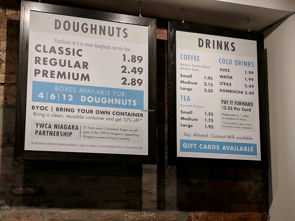 """Photo of Beechwood Doughnuts  by <a href=""""/members/profile/Zhawa"""">Zhawa</a> <br/>menu <br/> March 27, 2018  - <a href='/contact/abuse/image/55005/376928'>Report</a>"""
