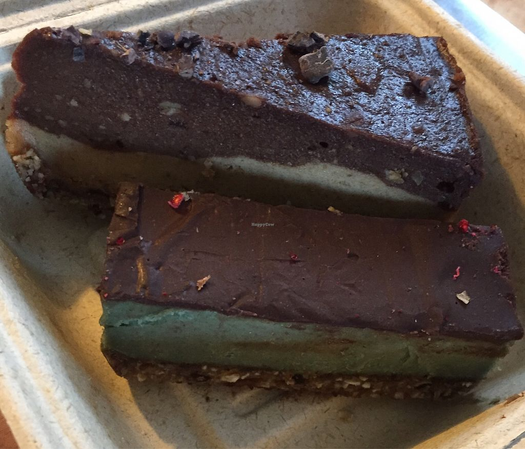 "Photo of The Raw Kitchen  by <a href=""/members/profile/Jameskille"">Jameskille</a> <br/>snickers and peppermint slice <br/> July 25, 2017  - <a href='/contact/abuse/image/55013/284597'>Report</a>"