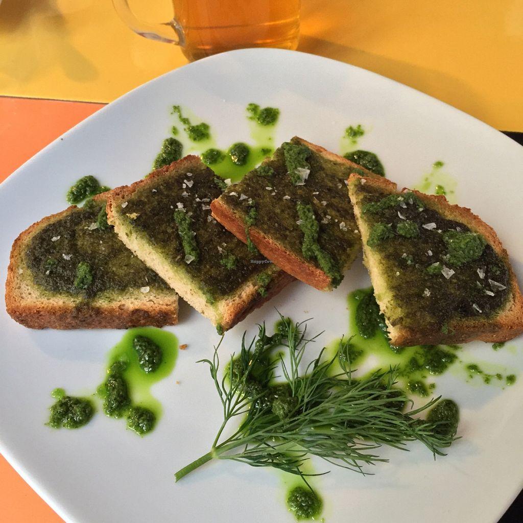 "Photo of Astrid  by <a href=""/members/profile/MyVeganJoy"">MyVeganJoy</a> <br/>yummy organic vegan garlic bread <br/> January 2, 2016  - <a href='/contact/abuse/image/55015/130733'>Report</a>"
