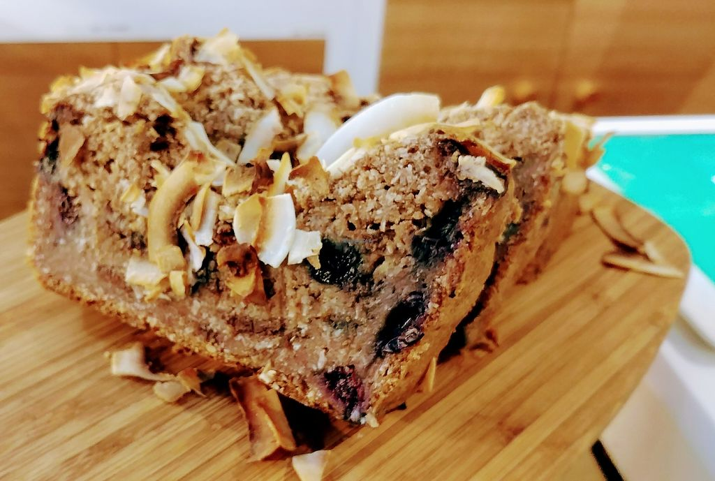 "Photo of Simple Seed Eatery  by <a href=""/members/profile/karlaess"">karlaess</a> <br/>Coconut & blueberry bread <br/> January 24, 2018  - <a href='/contact/abuse/image/55016/350457'>Report</a>"