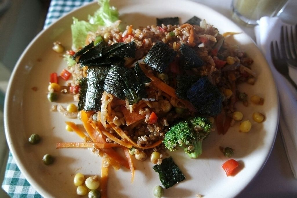 "Photo of Savia  by <a href=""/members/profile/isa_bellla9"">isa_bellla9</a> <br/>Rice with mixed veggies and nori leafs  <br/> April 16, 2017  - <a href='/contact/abuse/image/55020/248700'>Report</a>"