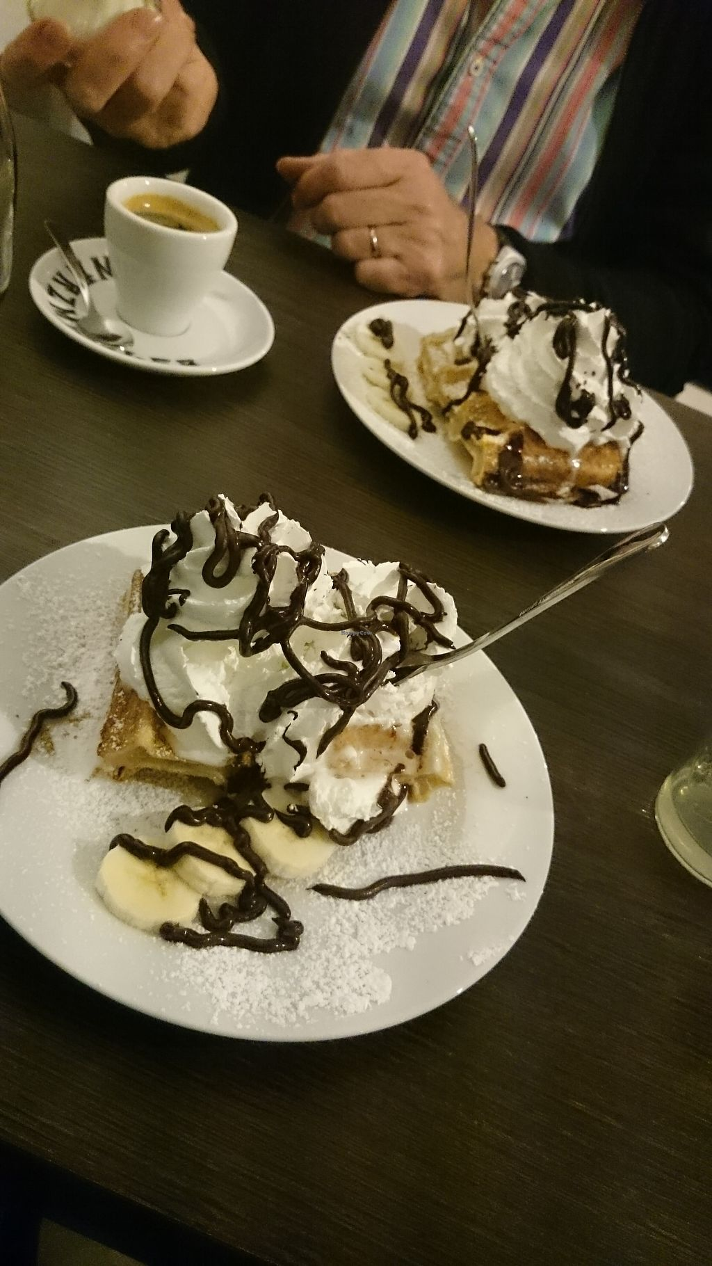 """Photo of Super Jami  by <a href=""""/members/profile/chb-pbfp"""">chb-pbfp</a> <br/>Dessert vegan waffle <br/> August 25, 2017  - <a href='/contact/abuse/image/55059/297107'>Report</a>"""