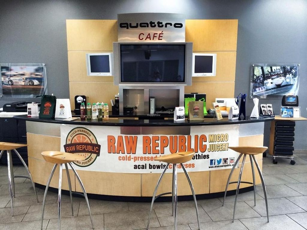 """Photo of Raw Republic  by <a href=""""/members/profile/community"""">community</a> <br/>Raw Republic  <br/> April 8, 2015  - <a href='/contact/abuse/image/55079/98288'>Report</a>"""