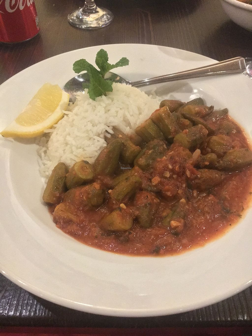 """Photo of Jeitta  by <a href=""""/members/profile/dmcm"""">dmcm</a> <br/>BAMIA B'ZEIT - Okra cooked with coriander, garlic, tomatoes, onions & olive oil <br/> December 13, 2017  - <a href='/contact/abuse/image/55080/335291'>Report</a>"""