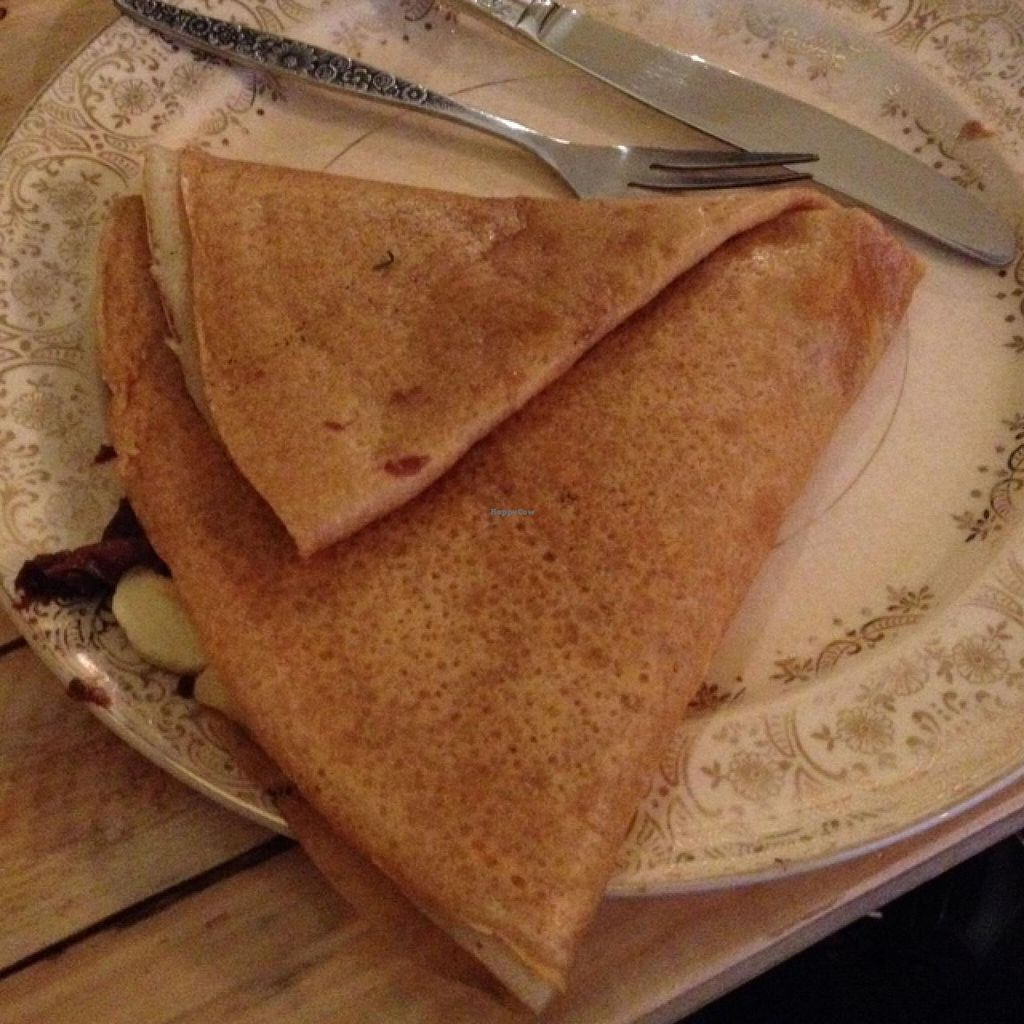"""Photo of Little ChoC Apothecary  by <a href=""""/members/profile/vegan_ryan"""">vegan_ryan</a> <br/>'Newtella' and banana crepe <br/> January 24, 2015  - <a href='/contact/abuse/image/55081/91291'>Report</a>"""