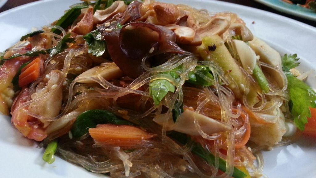 """Photo of Green Garden Cooking School and Restaurant  by <a href=""""/members/profile/eric"""">eric</a> <br/>glass noodle veggies <br/> January 28, 2015  - <a href='/contact/abuse/image/55097/91521'>Report</a>"""