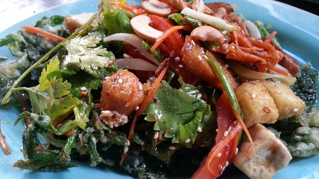 """Photo of Green Garden Cooking School and Restaurant  by <a href=""""/members/profile/eric"""">eric</a> <br/>crispy morning glory <br/> January 28, 2015  - <a href='/contact/abuse/image/55097/91522'>Report</a>"""