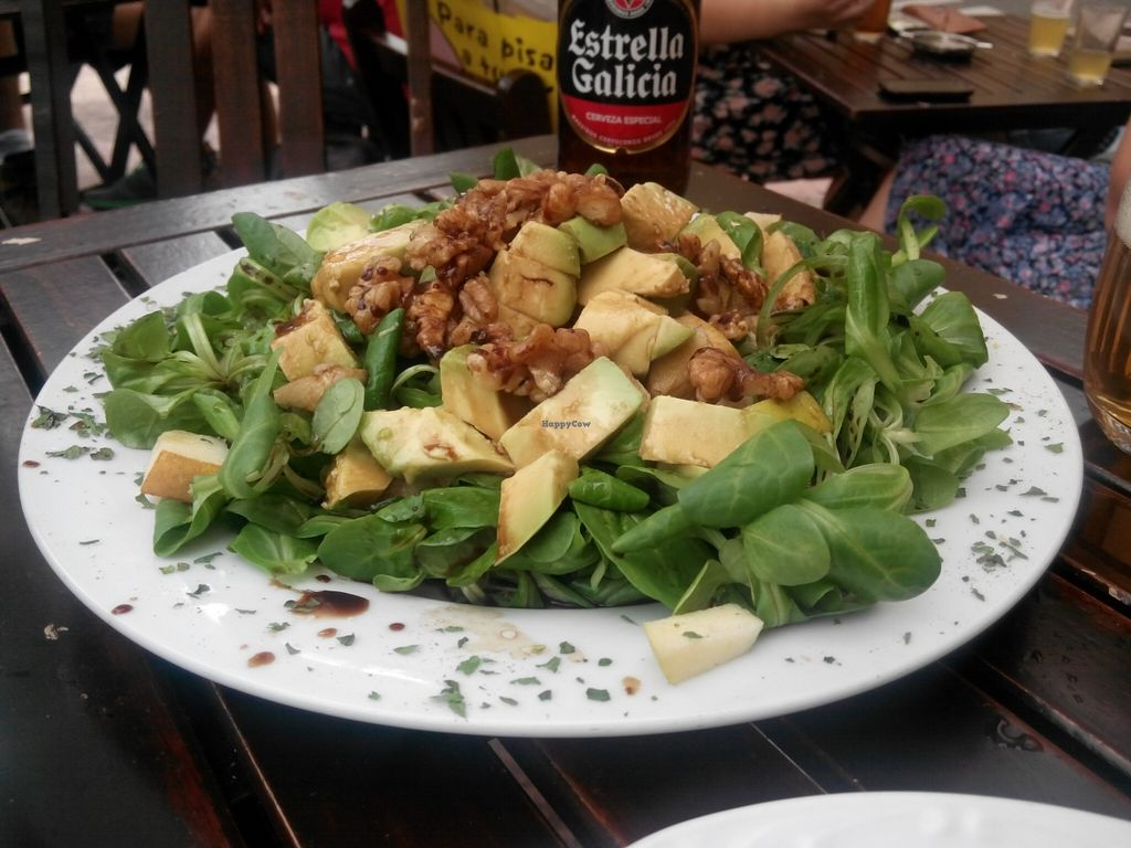 """Photo of El Boca a Boca  by <a href=""""/members/profile/ovejaexiste"""">ovejaexiste</a> <br/>Ensalada primavera (avocado, nuts, pear and green leafs salad with balsamic vinegar dressing) <br/> August 26, 2015  - <a href='/contact/abuse/image/55107/115303'>Report</a>"""