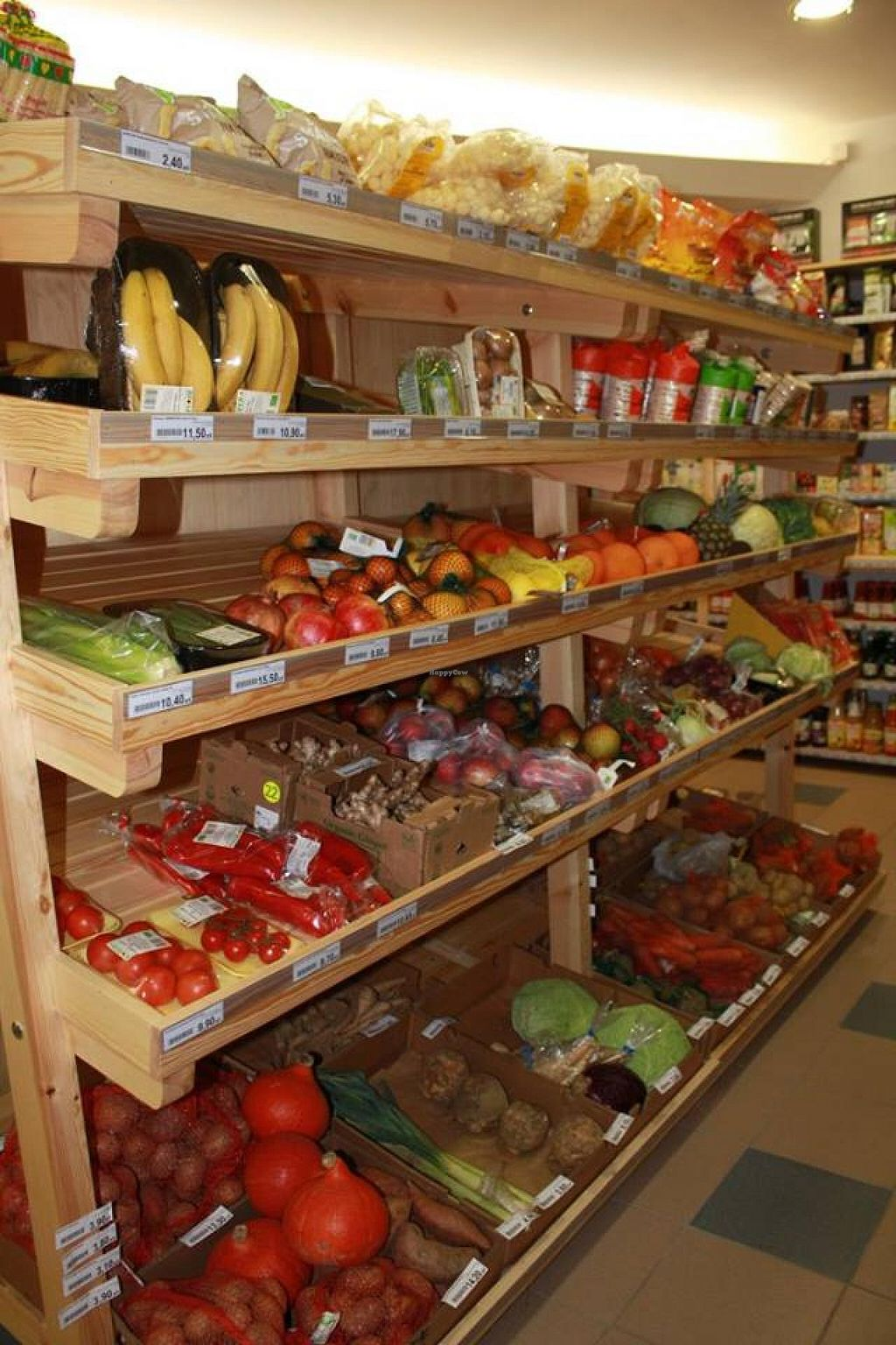 """Photo of ekoAleja Gdansk  by <a href=""""/members/profile/_nina_"""">_nina_</a> <br/>Organically grown fruits and vegetables <br/> January 25, 2015  - <a href='/contact/abuse/image/55112/91407'>Report</a>"""