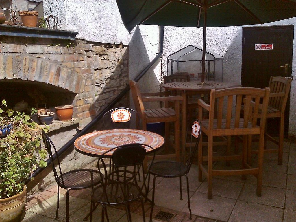 """Photo of Wild Zucchinis Bistro  by <a href=""""/members/profile/Braidy"""">Braidy</a> <br/>The patio area <br/> May 25, 2015  - <a href='/contact/abuse/image/55127/103341'>Report</a>"""