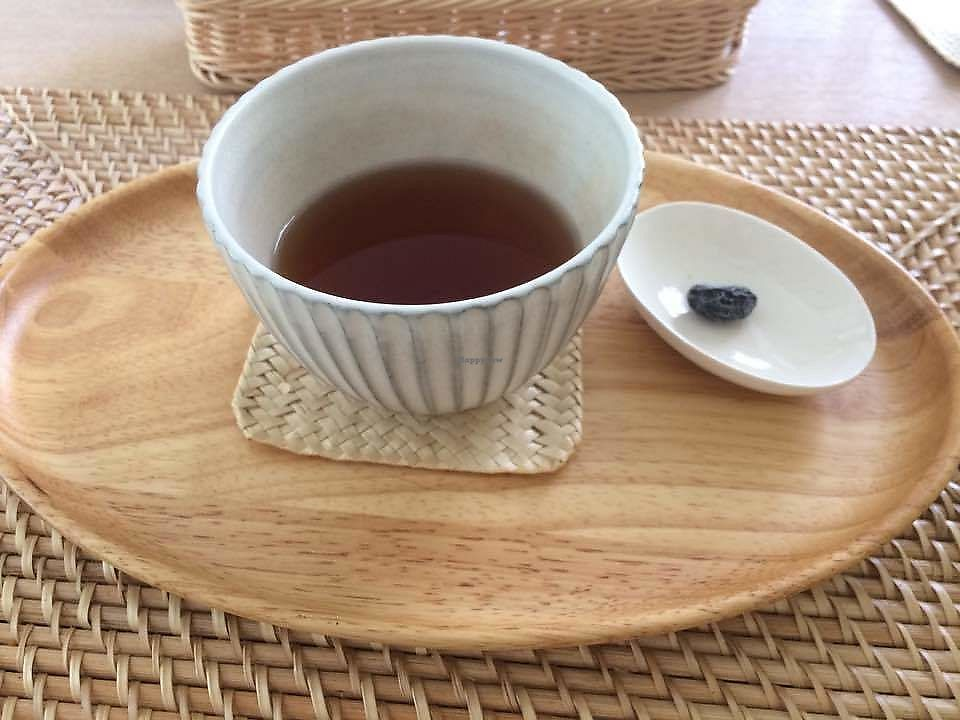 """Photo of Merci Cafe  by <a href=""""/members/profile/twocats"""">twocats</a> <br/>Macrobiotic SannenBancha green tea <br/> June 17, 2017  - <a href='/contact/abuse/image/55137/269906'>Report</a>"""