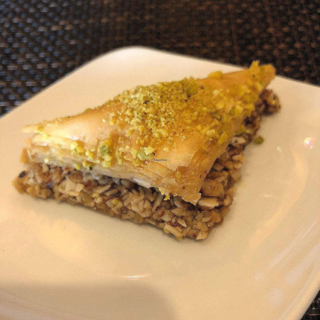"Photo of Violette's Vegan Organic Eatery and Juice Bar  by <a href=""/members/profile/MyVeganJoy"">MyVeganJoy</a> <br/>Great baklava  <br/> March 18, 2018  - <a href='/contact/abuse/image/55147/372635'>Report</a>"