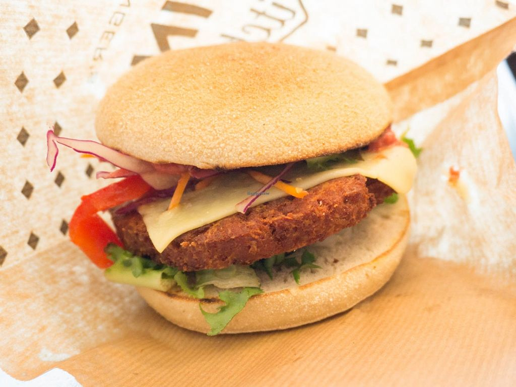 "Photo of Swing Kitchen - Schottenfeldgasse  by <a href=""/members/profile/biancah"">biancah</a> <br/>Vegan Cheese Burger @ Swing Kitchen, Vienna <br/> January 18, 2016  - <a href='/contact/abuse/image/55157/132829'>Report</a>"