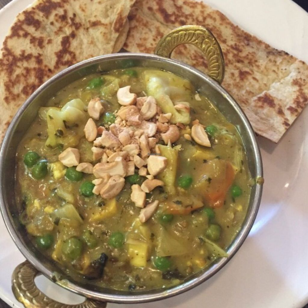 """Photo of Paramjit's Kitchen  by <a href=""""/members/profile/leont"""">leont</a> <br/>1 of the 10 veggie and vegan dishes <br/> July 2, 2016  - <a href='/contact/abuse/image/55169/157238'>Report</a>"""