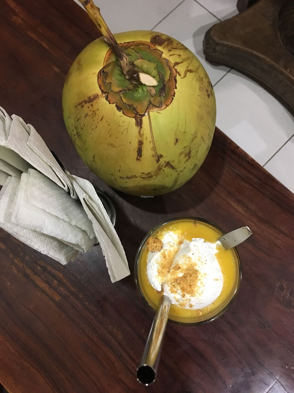 """Photo of Tukies Cafe  by <a href=""""/members/profile/jojoinbrighton"""">jojoinbrighton</a> <br/>Coco mango ice cream float <br/> August 15, 2017  - <a href='/contact/abuse/image/55170/292774'>Report</a>"""