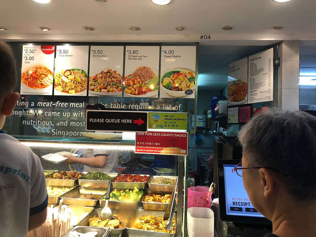 """Photo of Go Vegetarian - Rivervale Mall  by <a href=""""/members/profile/Starmone"""">Starmone</a> <br/>Menu <br/> March 12, 2018  - <a href='/contact/abuse/image/55176/369650'>Report</a>"""