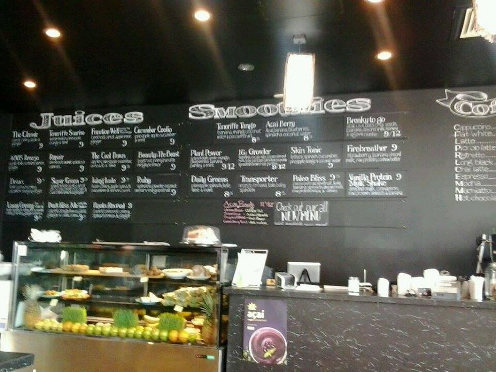 "Photo of Evolve Organics  by <a href=""/members/profile/vegan_simon"">vegan_simon</a> <br/>inside the cafe <br/> February 15, 2015  - <a href='/contact/abuse/image/55179/93184'>Report</a>"