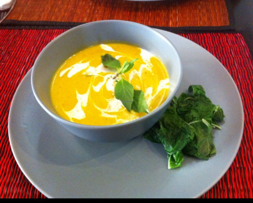 """Photo of Joe to Go  by <a href=""""/members/profile/Arvid"""">Arvid</a> <br/>Pumpkin soup ($2.50) <br/> February 11, 2016  - <a href='/contact/abuse/image/55181/135846'>Report</a>"""