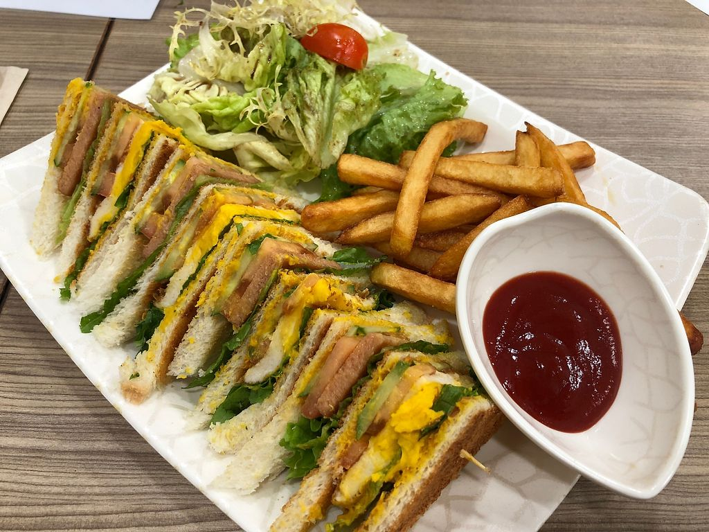"Photo of Green Fresh Vegan Restaurant  by <a href=""/members/profile/SamanthaIngridHo"">SamanthaIngridHo</a> <br/>club sandwiches <br/> April 11, 2018  - <a href='/contact/abuse/image/55182/384048'>Report</a>"