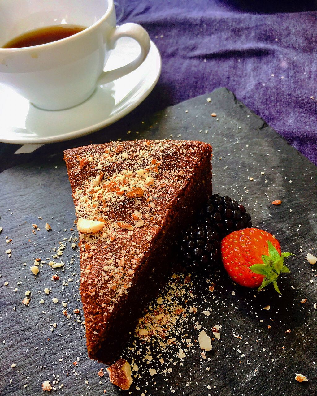 "Photo of Salad Me Cafe  by <a href=""/members/profile/ElkeBa"">ElkeBa</a> <br/>schoko Kakao Torte <br/> July 21, 2017  - <a href='/contact/abuse/image/55193/282867'>Report</a>"