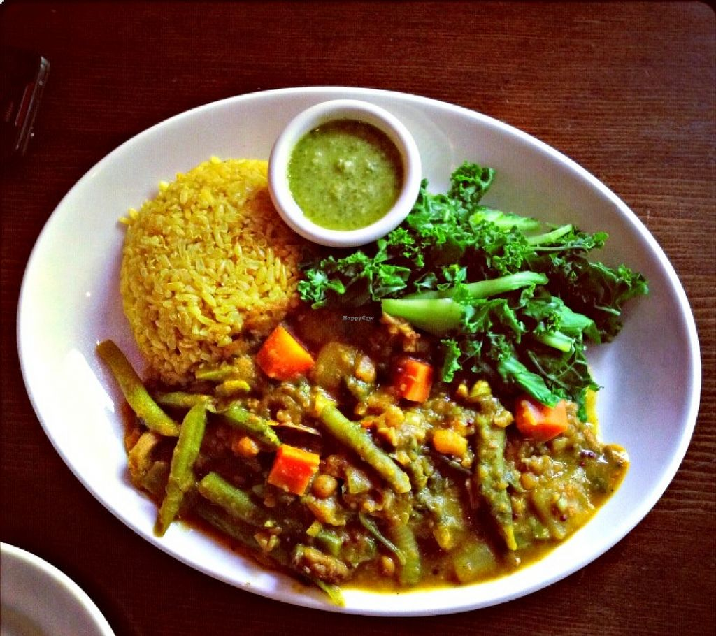"""Photo of Mana  by <a href=""""/members/profile/UrbanNaturale"""">UrbanNaturale</a> <br/>Manna is one of my favorite plant-based restaurants on the Upper West Side! <br/> August 23, 2015  - <a href='/contact/abuse/image/5520/114900'>Report</a>"""
