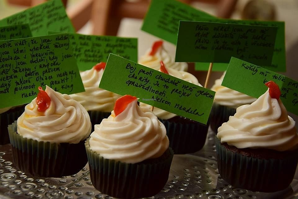 """Photo of Cukrárna  by <a href=""""/members/profile/zuzicka"""">zuzicka</a> <br/>Cupcakes during Human Rights week <br/> March 30, 2018  - <a href='/contact/abuse/image/55219/378274'>Report</a>"""