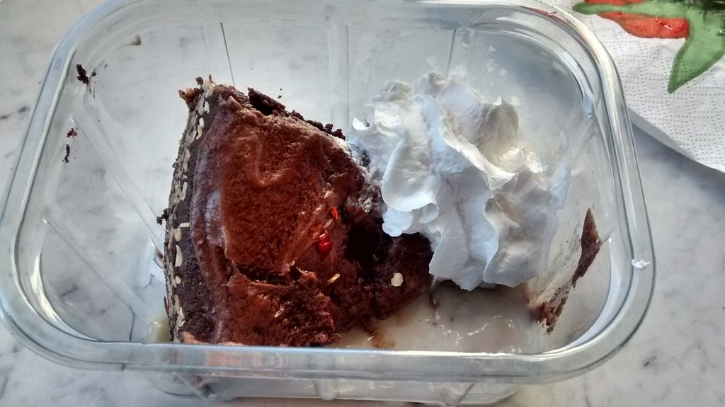 """Photo of Femtopia  by <a href=""""/members/profile/JonJon"""">JonJon</a> <br/>Chocolate-chili cake with Chantilly and vanilla cream <br/> August 24, 2015  - <a href='/contact/abuse/image/55221/114951'>Report</a>"""