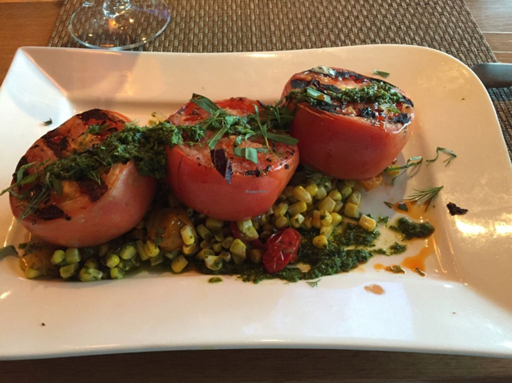 "Photo of Moxie Kitchen and Cocktails  by <a href=""/members/profile/HappyHeart"">HappyHeart</a> <br/>roasted tomatoes with corn  <br/> September 29, 2015  - <a href='/contact/abuse/image/55230/119603'>Report</a>"