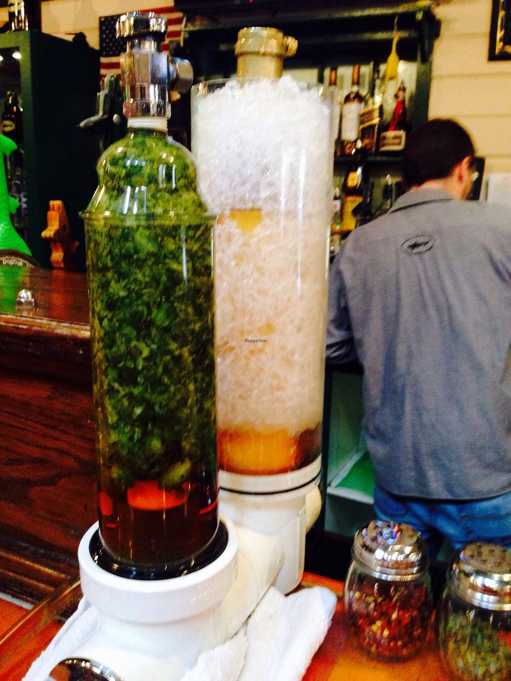 """Photo of Dogfish Head Brewing  by <a href=""""/members/profile/EllieProb"""">EllieProb</a> <br/>Monday & Friday beer goes through a randall for extra flavor. This was 90 minute ipa through cascade hops.  <br/> January 31, 2015  - <a href='/contact/abuse/image/55232/91879'>Report</a>"""