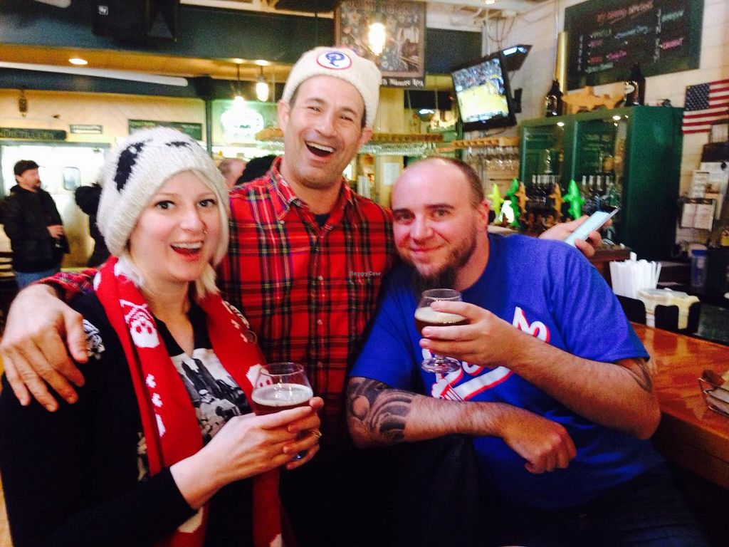 """Photo of Dogfish Head Brewing  by <a href=""""/members/profile/EllieProb"""">EllieProb</a> <br/>My recently engaged friends had a beer bought for them by Sam Caglione who is the owner/founder of Dogfish Head <br/> January 31, 2015  - <a href='/contact/abuse/image/55232/91880'>Report</a>"""