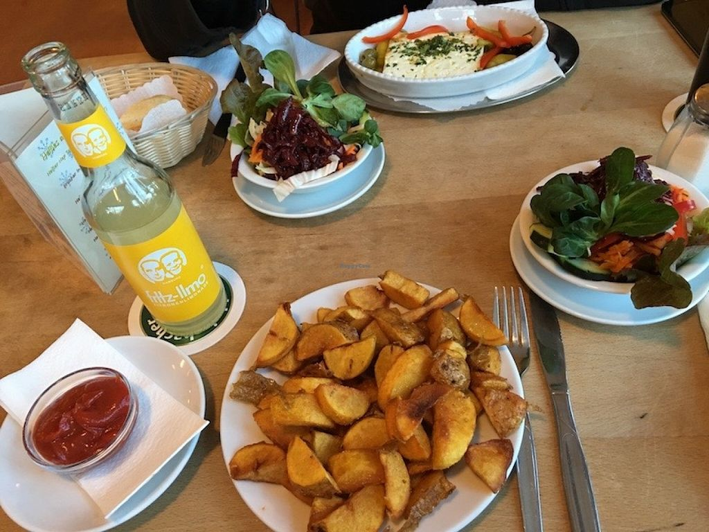 """Photo of Nepomuk  by <a href=""""/members/profile/marky_mark"""">marky_mark</a> <br/>potatoes and salad <br/> January 22, 2016  - <a href='/contact/abuse/image/55234/133344'>Report</a>"""