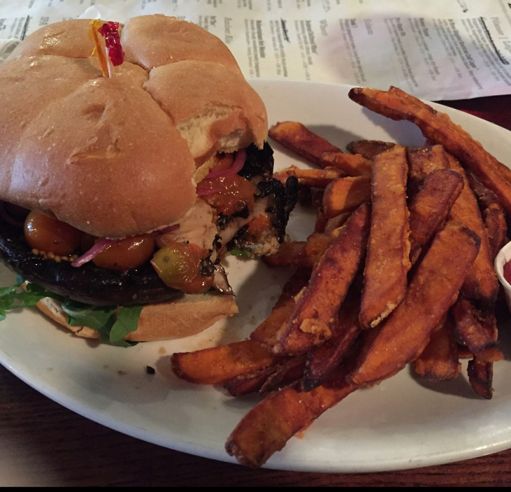 "Photo of The Anchor  by <a href=""/members/profile/MaddyR"">MaddyR</a> <br/>mushroom burger! <br/> May 1, 2017  - <a href='/contact/abuse/image/55245/254416'>Report</a>"