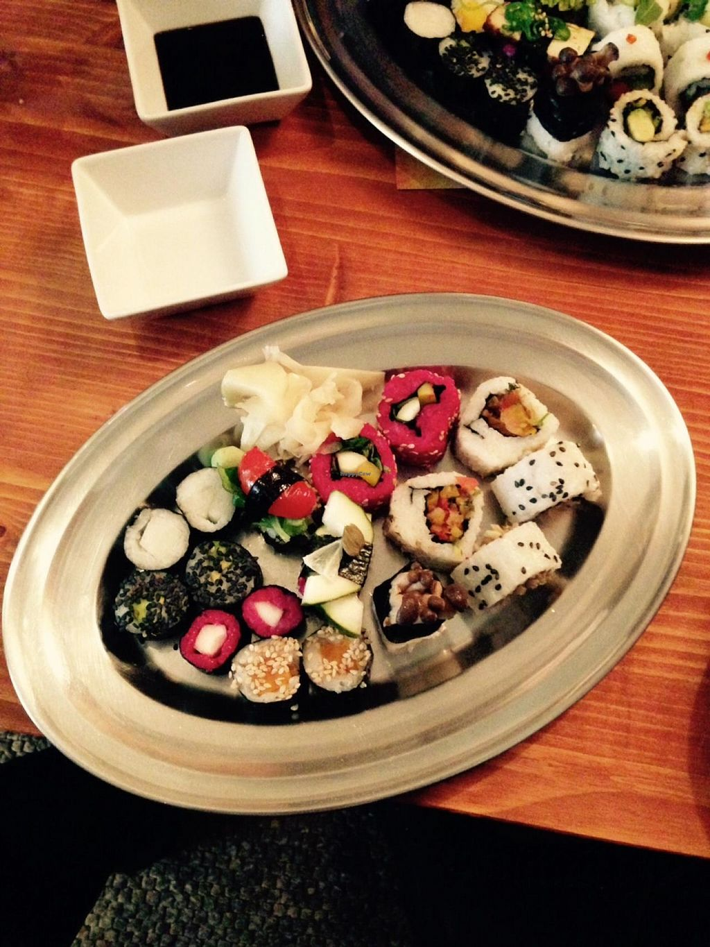 """Photo of CLOSED: Pirata  by <a href=""""/members/profile/Misanthropia"""">Misanthropia</a> <br/>Vegan sushi at pirata <br/> May 21, 2015  - <a href='/contact/abuse/image/55257/102967'>Report</a>"""