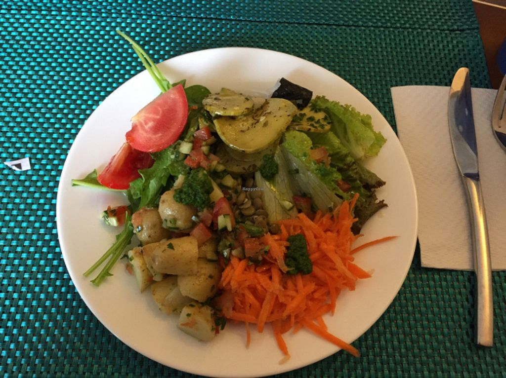 """Photo of O Vegetariano Gourmet  by <a href=""""/members/profile/Paolla"""">Paolla</a> <br/>Some of the salads options <br/> September 12, 2015  - <a href='/contact/abuse/image/55269/117438'>Report</a>"""