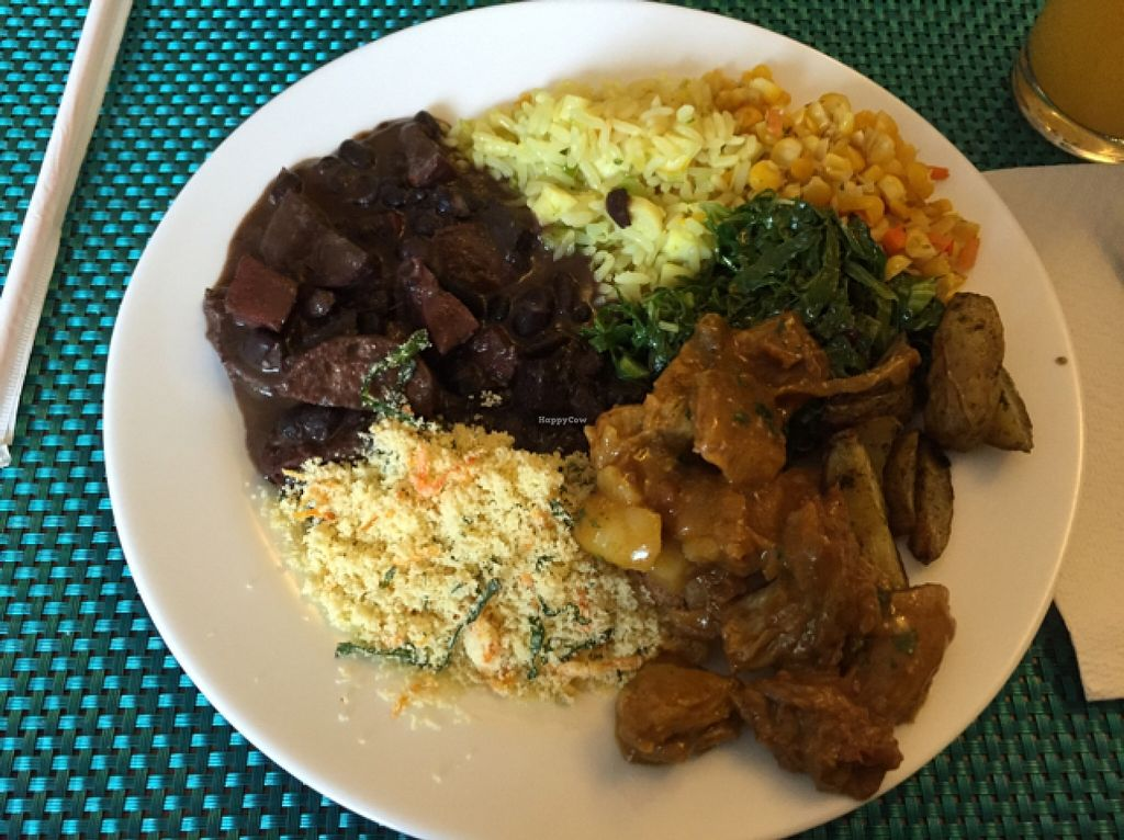 """Photo of O Vegetariano Gourmet  by <a href=""""/members/profile/Paolla"""">Paolla</a> <br/>Feijoada and more <br/> September 12, 2015  - <a href='/contact/abuse/image/55269/117439'>Report</a>"""