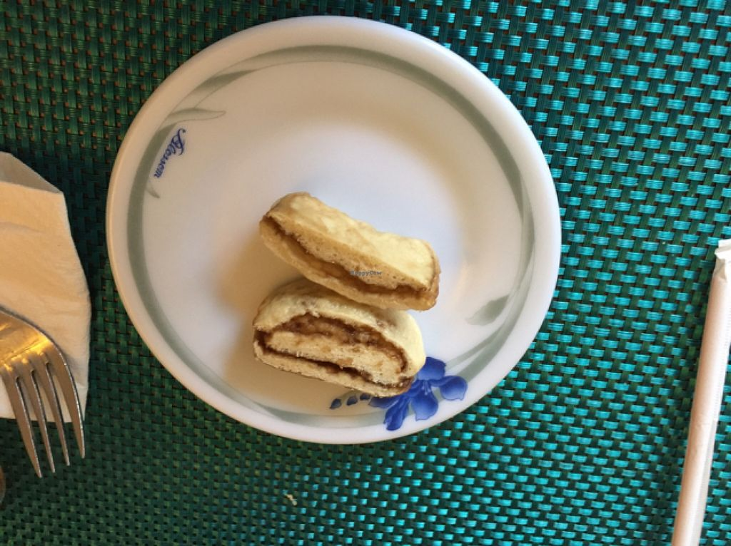 """Photo of O Vegetariano Gourmet  by <a href=""""/members/profile/Paolla"""">Paolla</a> <br/>'Sweet bread' - the only vegan dessert :-( <br/> September 12, 2015  - <a href='/contact/abuse/image/55269/117440'>Report</a>"""