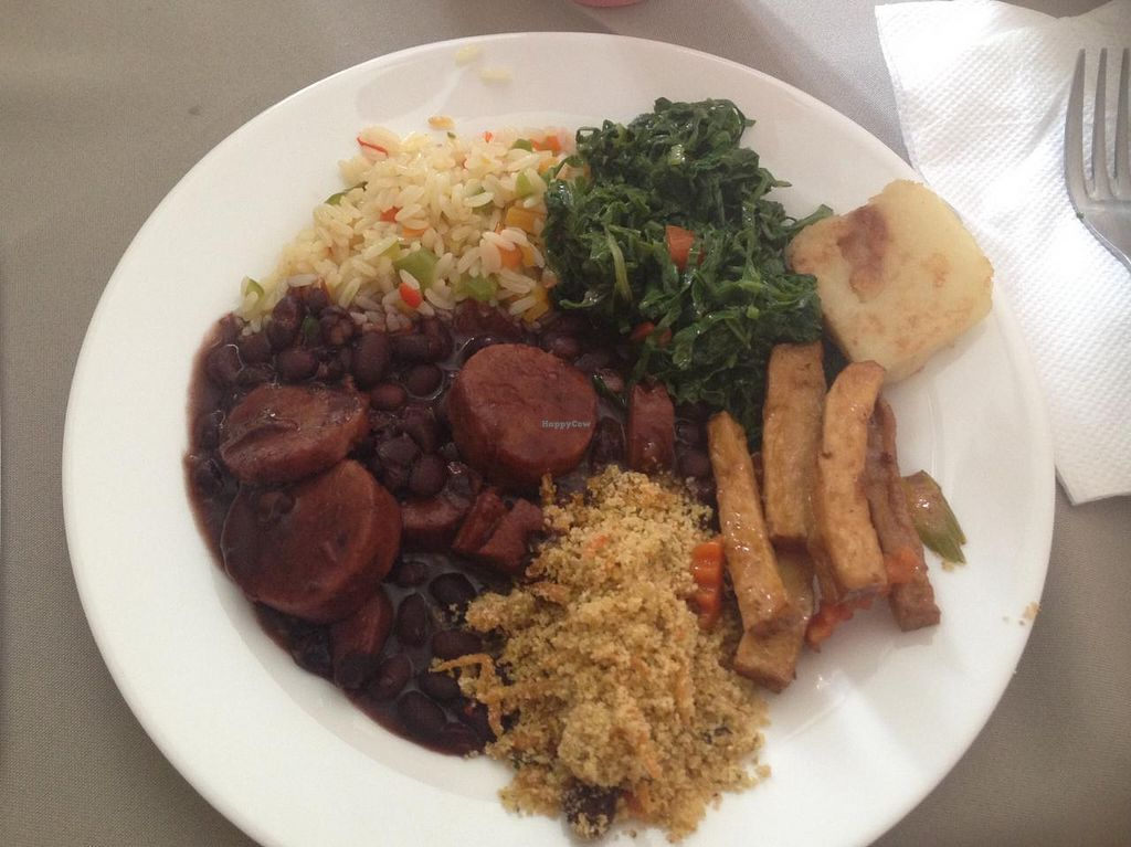 """Photo of O Vegetariano Gourmet  by <a href=""""/members/profile/Paolla"""">Paolla</a> <br/>Some of the options of the buffet - feijoada. =D <br/> March 21, 2015  - <a href='/contact/abuse/image/55269/96404'>Report</a>"""