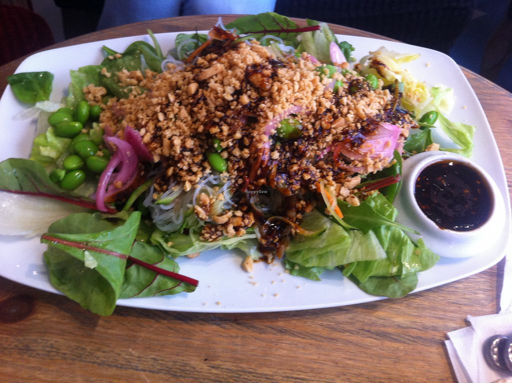"Photo of CLOSED: Satori  by <a href=""/members/profile/ViktorijaGor"">ViktorijaGor</a> <br/>Large salad with beans and nuts, vegan <br/> August 16, 2015  - <a href='/contact/abuse/image/55286/113795'>Report</a>"