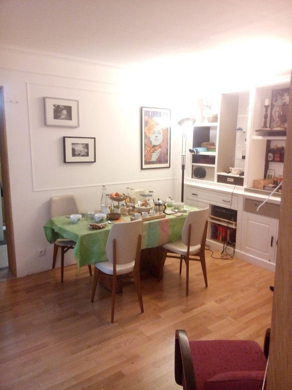 """Photo of Chambres de la Grande Porte  by <a href=""""/members/profile/markostova"""">markostova</a> <br/>Living room and dining area <br/> April 22, 2017  - <a href='/contact/abuse/image/55297/251007'>Report</a>"""