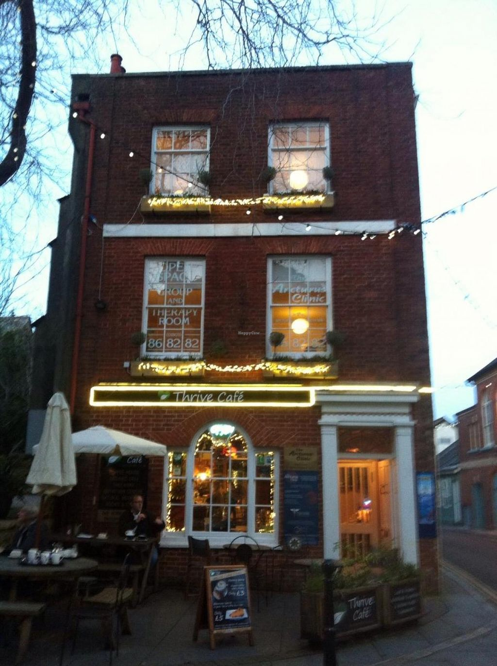 """Photo of CLOSED: Thrive Cafe  by <a href=""""/members/profile/hack_man"""">hack_man</a> <br/>Outside - taken by my Devon contact Mr P the Green <br/> February 3, 2015  - <a href='/contact/abuse/image/55308/92159'>Report</a>"""