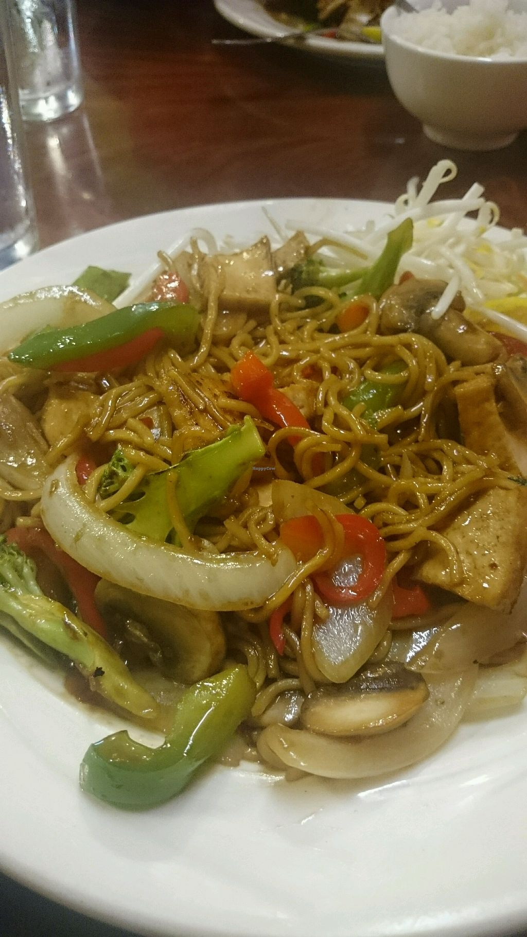 """Photo of EZ Thai Restaurant  by <a href=""""/members/profile/Hippiechick1970.lt"""">Hippiechick1970.lt</a> <br/>Yakisoba noodles- contains egg so not vegan just veg  <br/> October 1, 2017  - <a href='/contact/abuse/image/55353/310353'>Report</a>"""