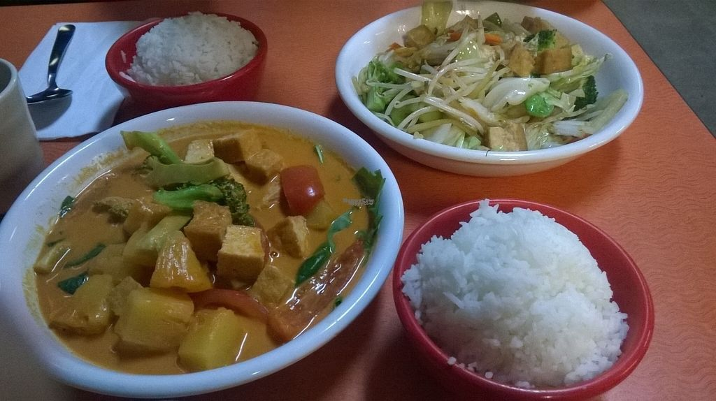 "Photo of Dara Thai Express  by <a href=""/members/profile/SaraMarkic"">SaraMarkic</a> <br/>tofu in coconut sauce, noodles <br/> October 19, 2016  - <a href='/contact/abuse/image/55354/183035'>Report</a>"