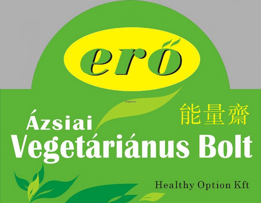 "Photo of Ero Azsiai Vegetarianus Bolt  by <a href=""/members/profile/jaimetiu"">jaimetiu</a> <br/>Ero Healthy Option Kft Azsiai Vegetarianus Bolt Vegan and Vegetarian Shop <br/> February 6, 2015  - <a href='/contact/abuse/image/55366/92335'>Report</a>"