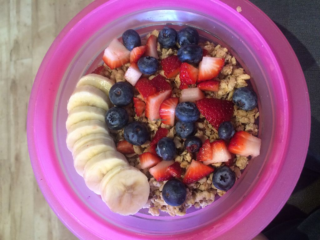 "Photo of Nekter Juice Bar  by <a href=""/members/profile/VeganTravelPodcast"">VeganTravelPodcast</a> <br/>Acai banana berry bowl <br/> April 4, 2018  - <a href='/contact/abuse/image/55383/380409'>Report</a>"
