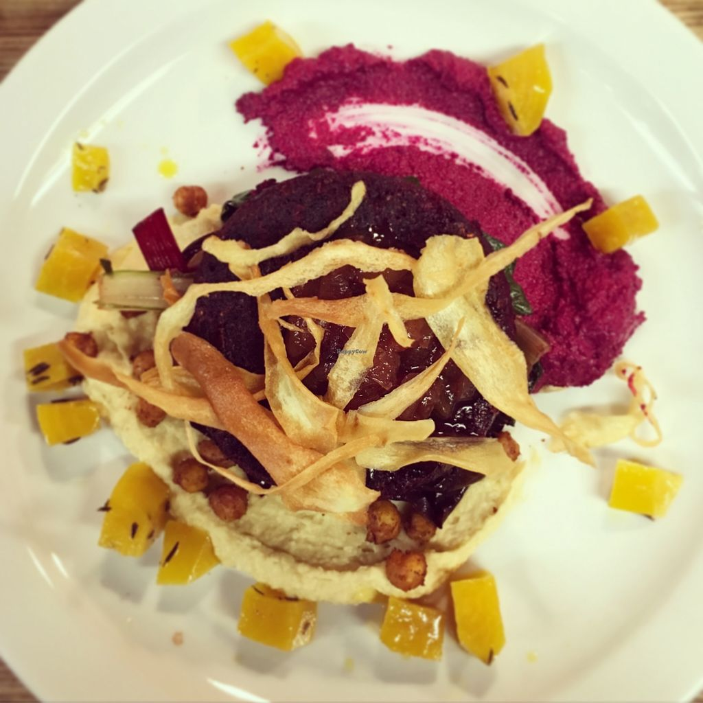 """Photo of Offbeet Food  by <a href=""""/members/profile/GeorginaAlyssa"""">GeorginaAlyssa</a> <br/>The 'naked' burger! <br/> November 11, 2015  - <a href='/contact/abuse/image/55388/124643'>Report</a>"""
